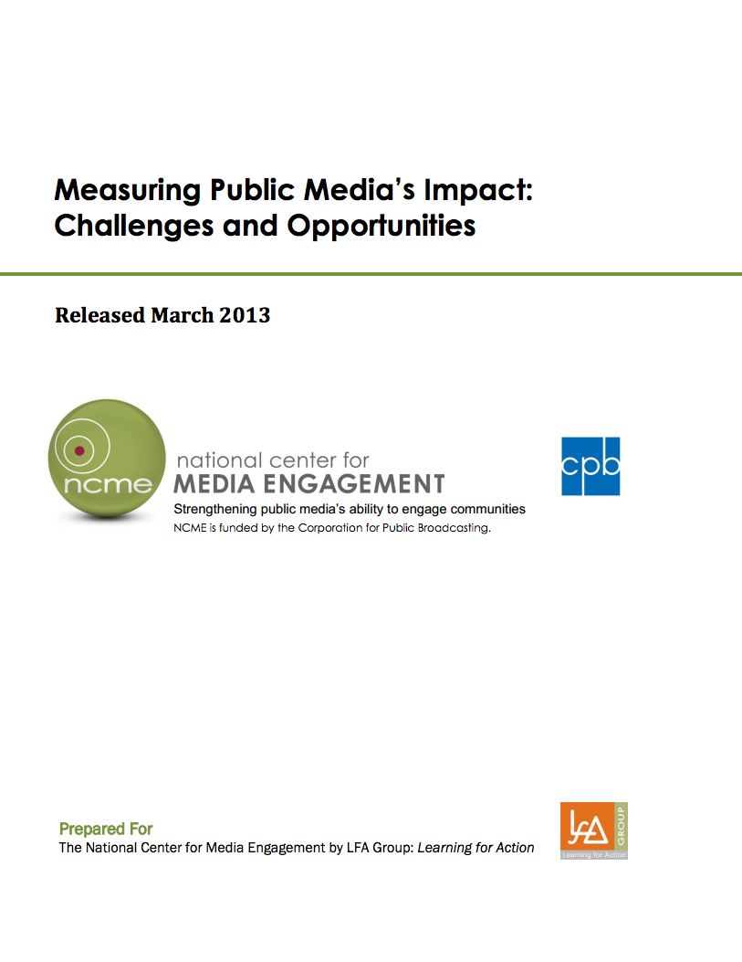 Measuring Public Media's Impact
