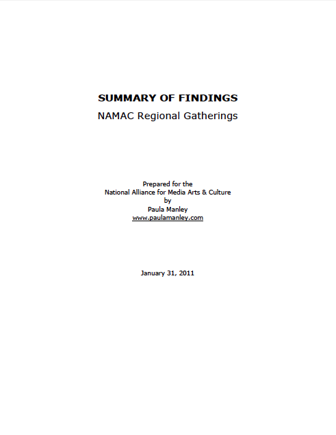 NAMAC Regional Gatherings 2010