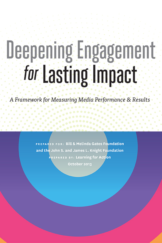 Deepening Engagement for Lasting Impact
