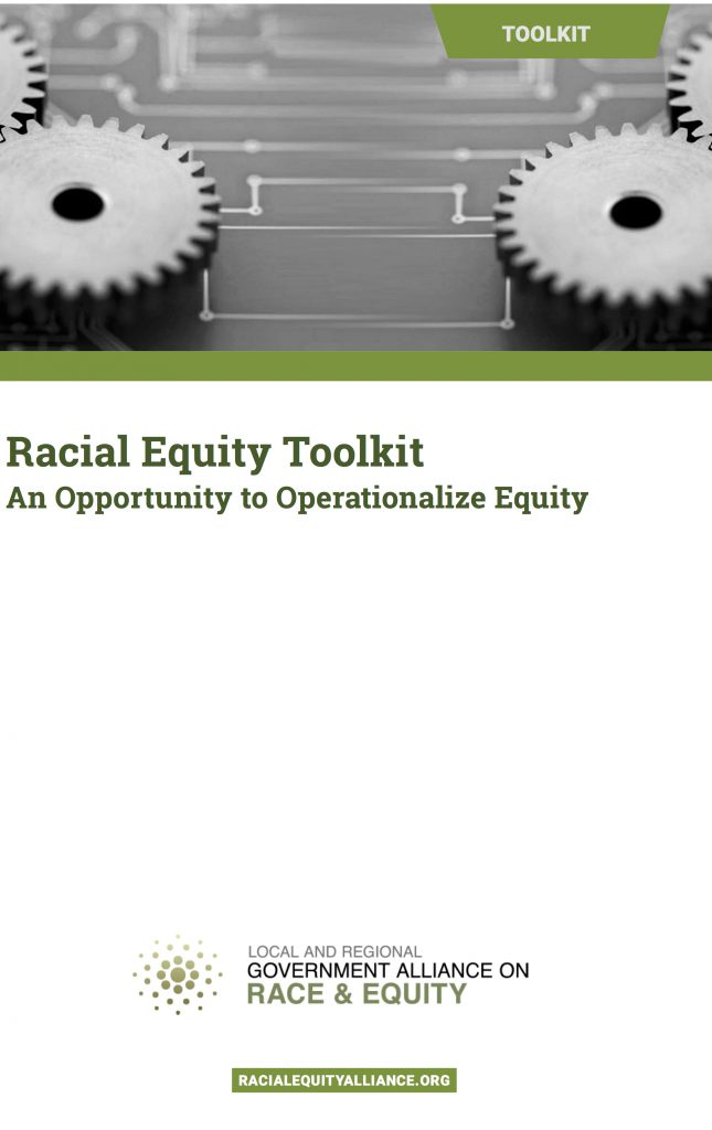 GARE Racial Equity Toolkit