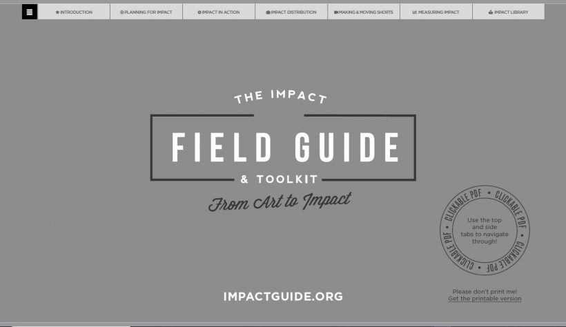 The Impact Field Guide & Toolkit