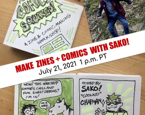 Comics SQUARED! : A zine-folding and comic-making Workshop