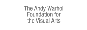 Warhol Foundation