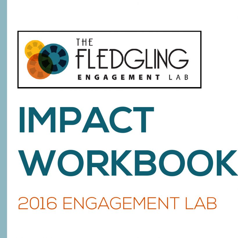 The Fledgling Fund: 2016 Engagement Lab Impact Workbook