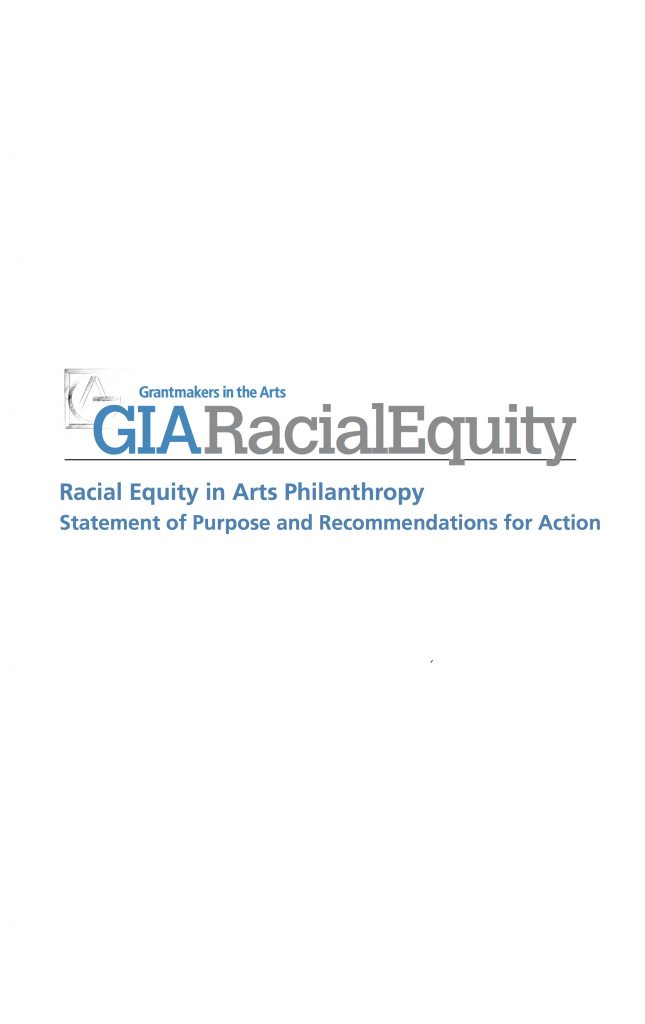 GIA Racial Equity Statement of Purpose