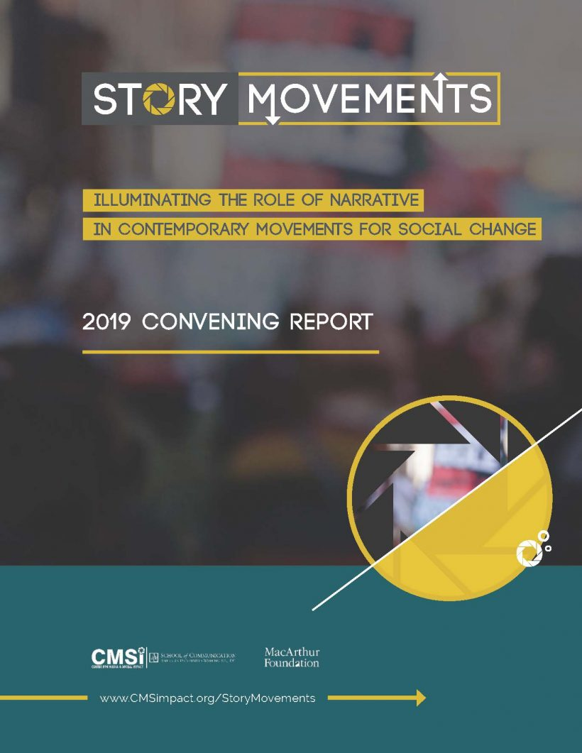 Story Movements: Illumination the Role of Narrative in Contemporary Movements for Social Change